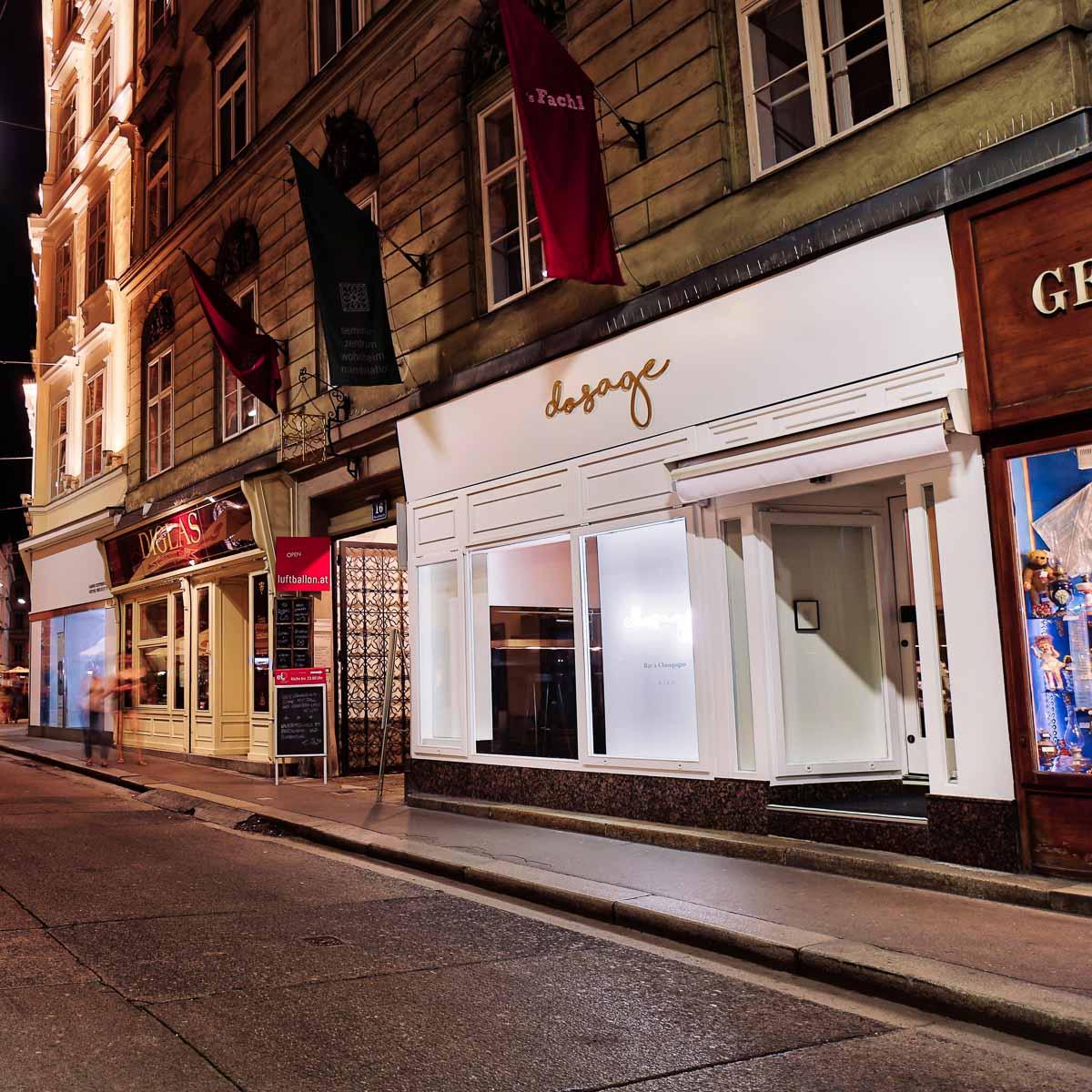 Champagner Bar Dossage am Fleischmarkt in Wien-3