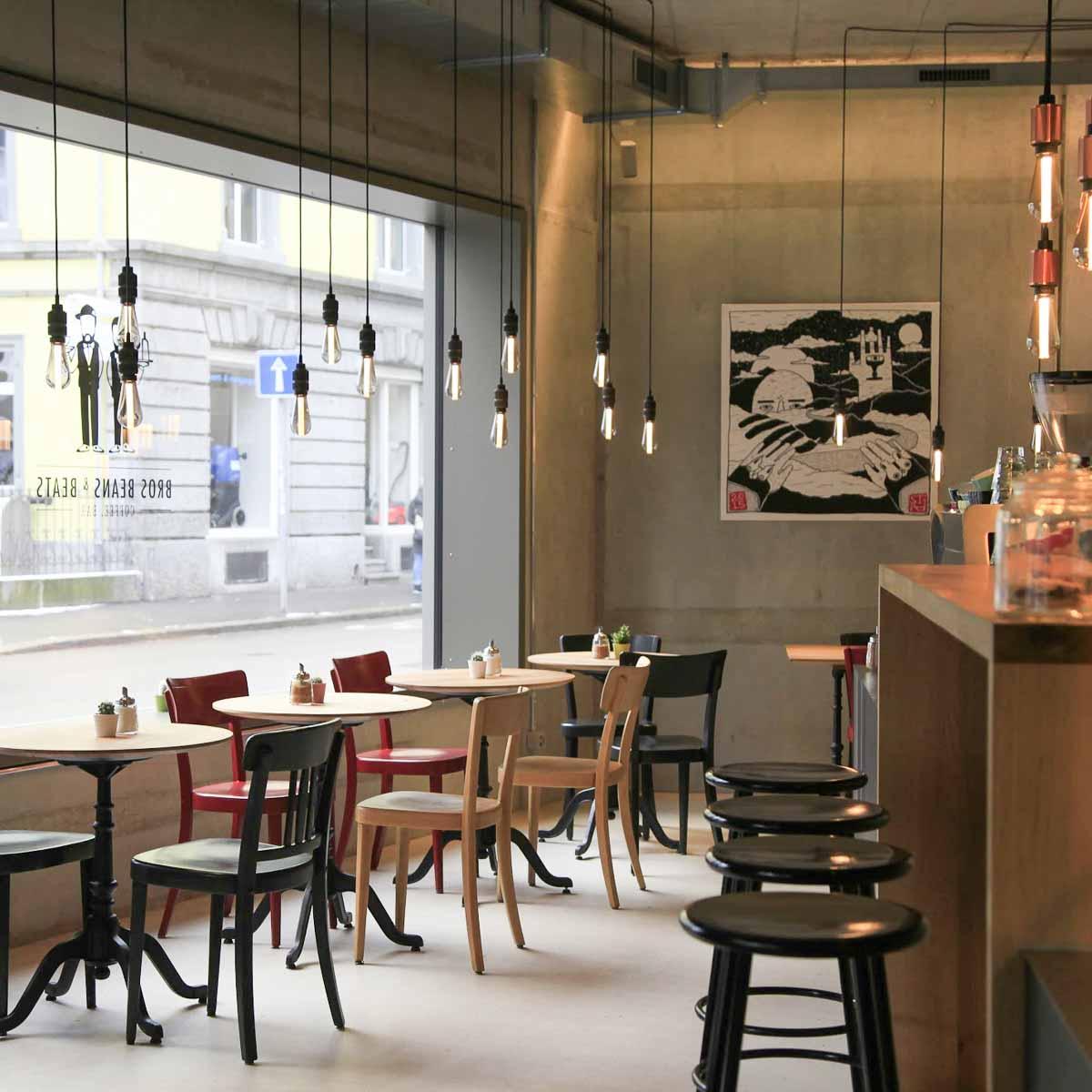 Bros Beans & Beats Café und Bar in Zürich-6