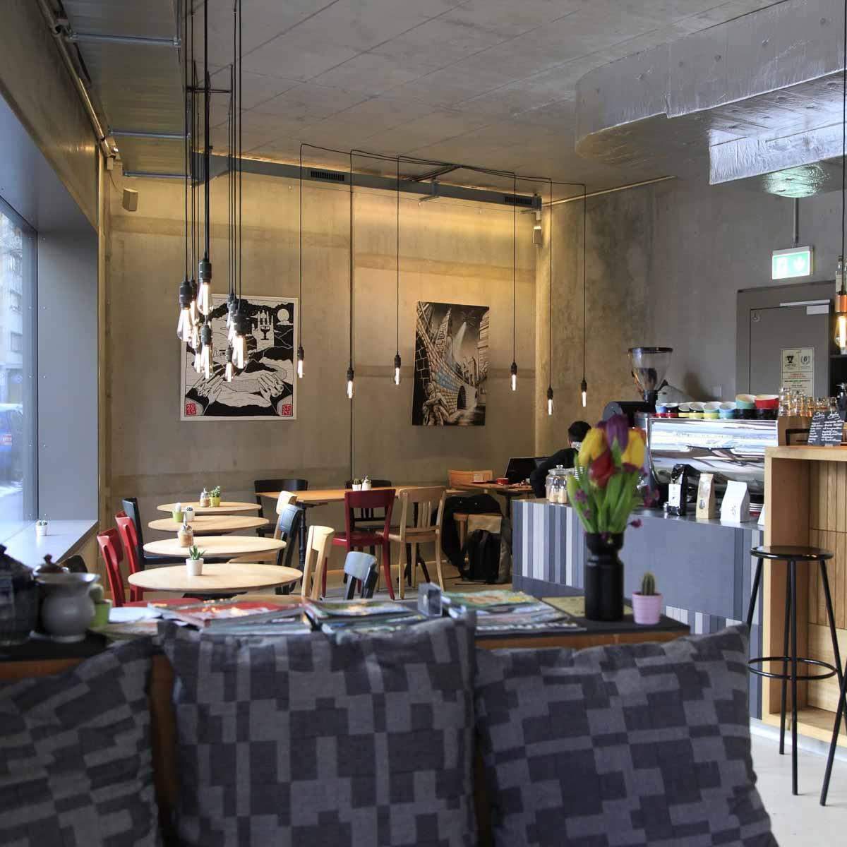 Bros Beans & Beats Café und Bar in Zürich-7