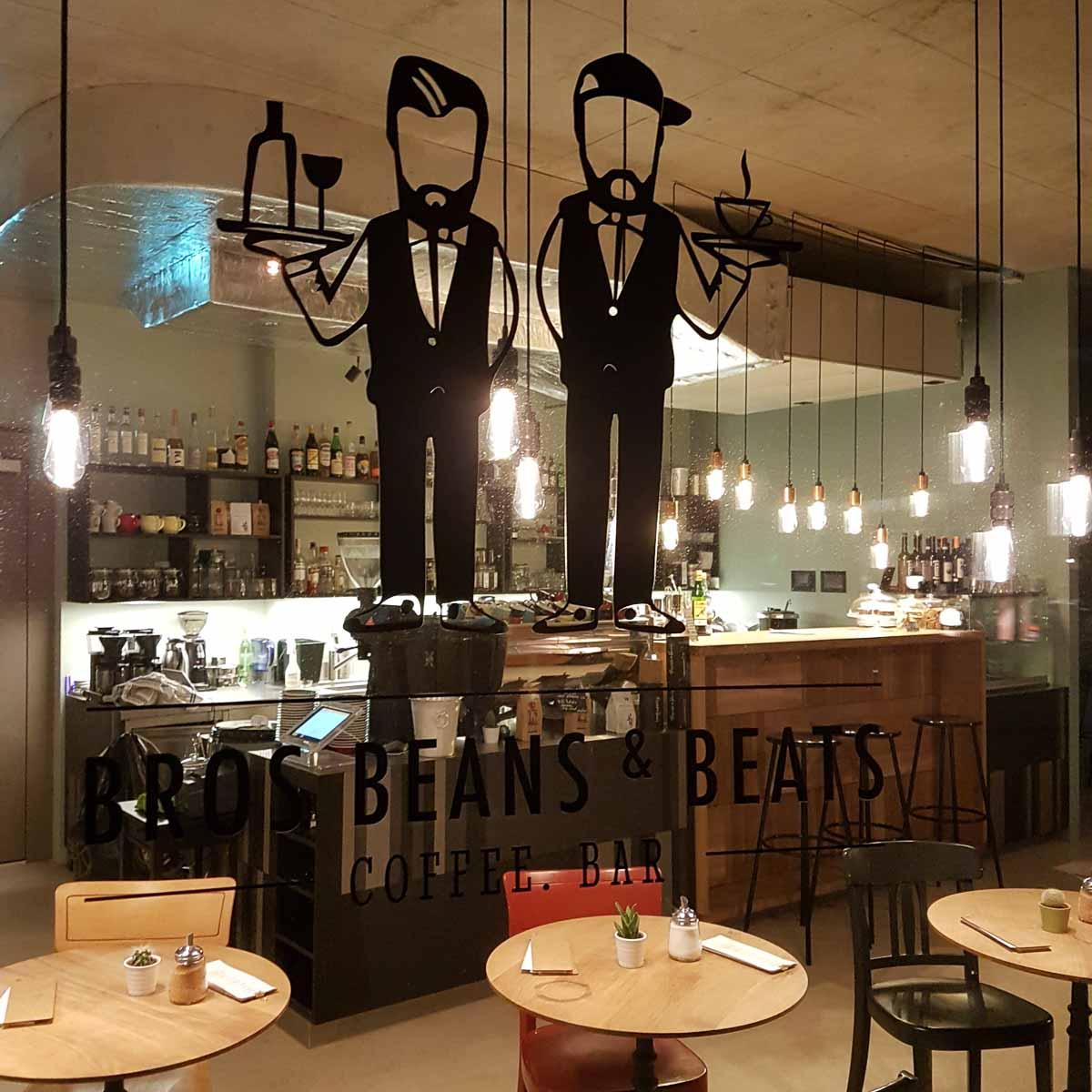 Bros Beans & Beats Café und Bar in Zürich