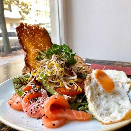 Frühstück im Bistro und Café die Stulle in Berlin Charlottenburg-2