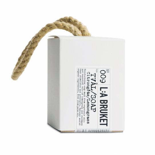 LA BRUKET N°009 Kordelseife Lemongrass 240g