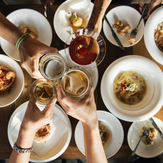 Sonntags im Restaurant Il Calice