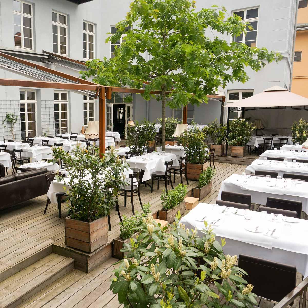 The Grand Terrasse in Berlin-Mitte