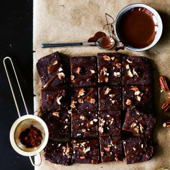 Rezept für Brownies mit Avocado von Maria Panzer