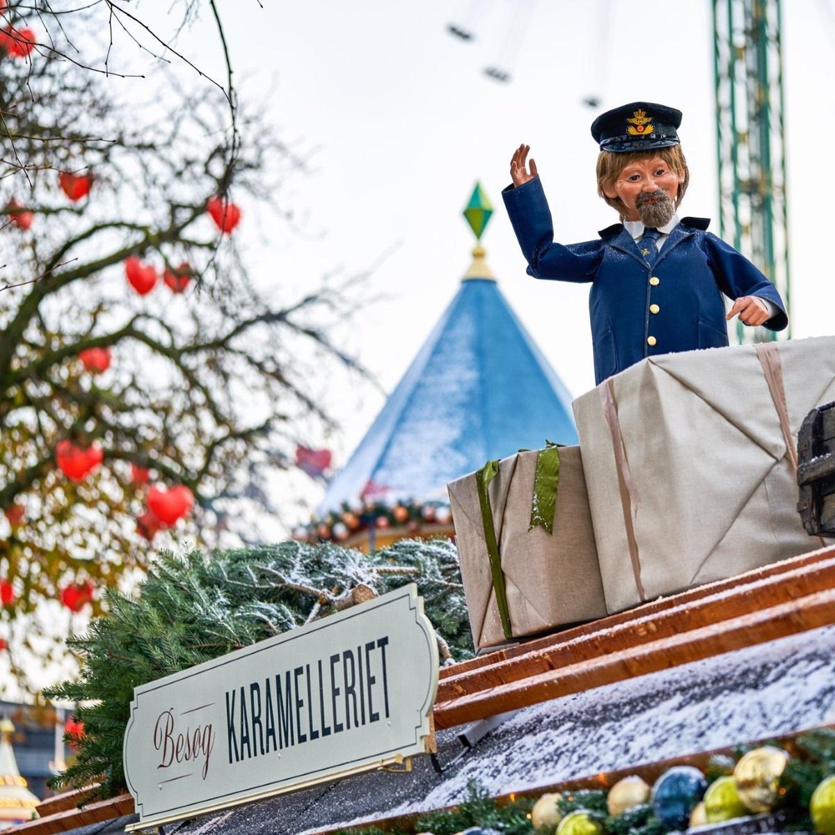 Weihnachten im Tivoli Kopenhagen