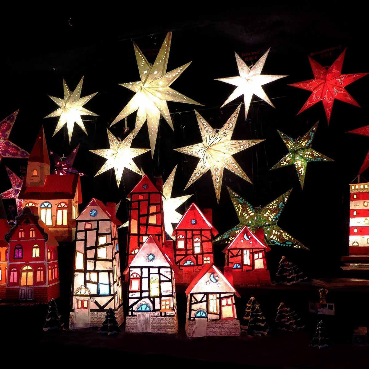 Weihnachtsmarkt Apostelkirche in Hamburg