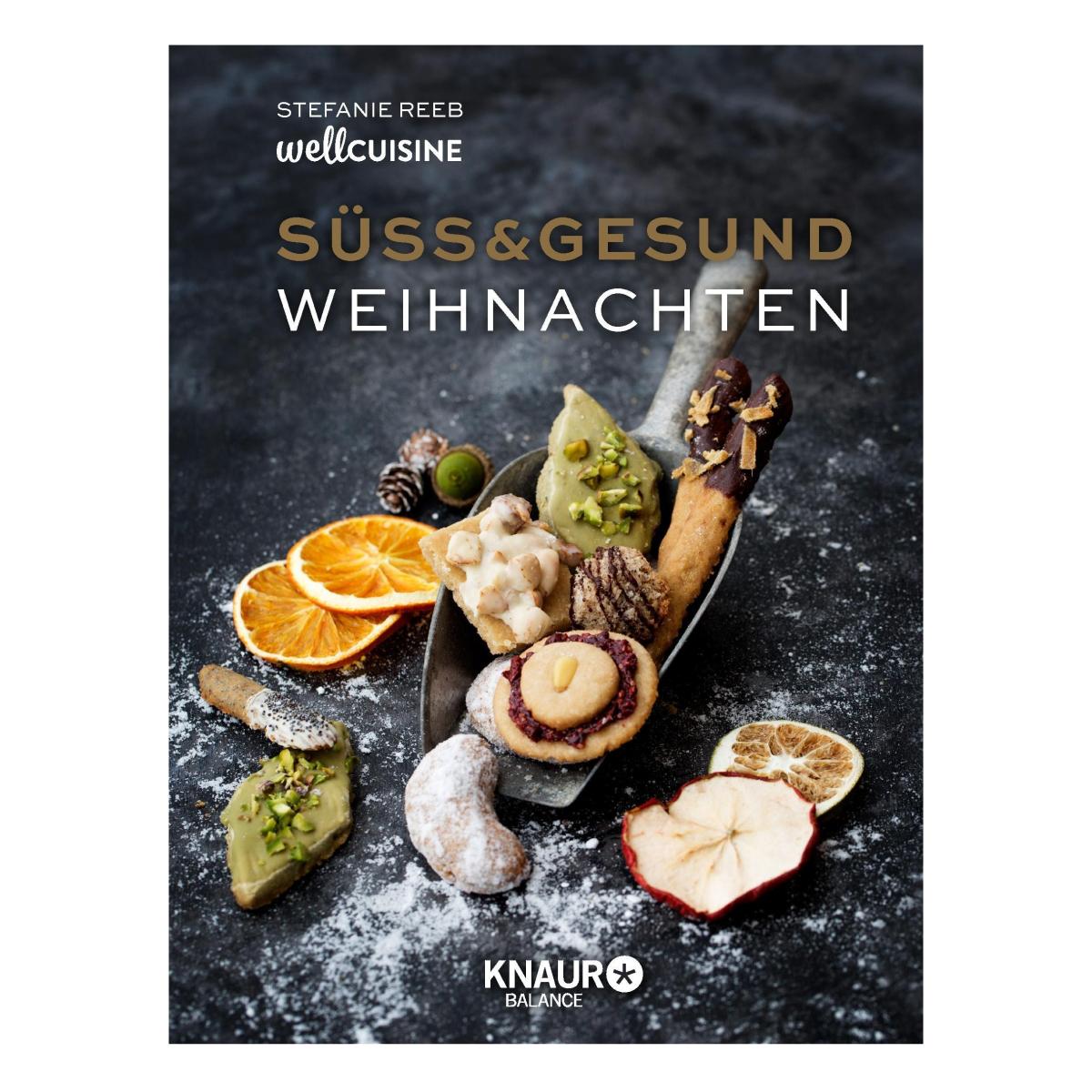 Cover Süss und Gesund Weihnachten