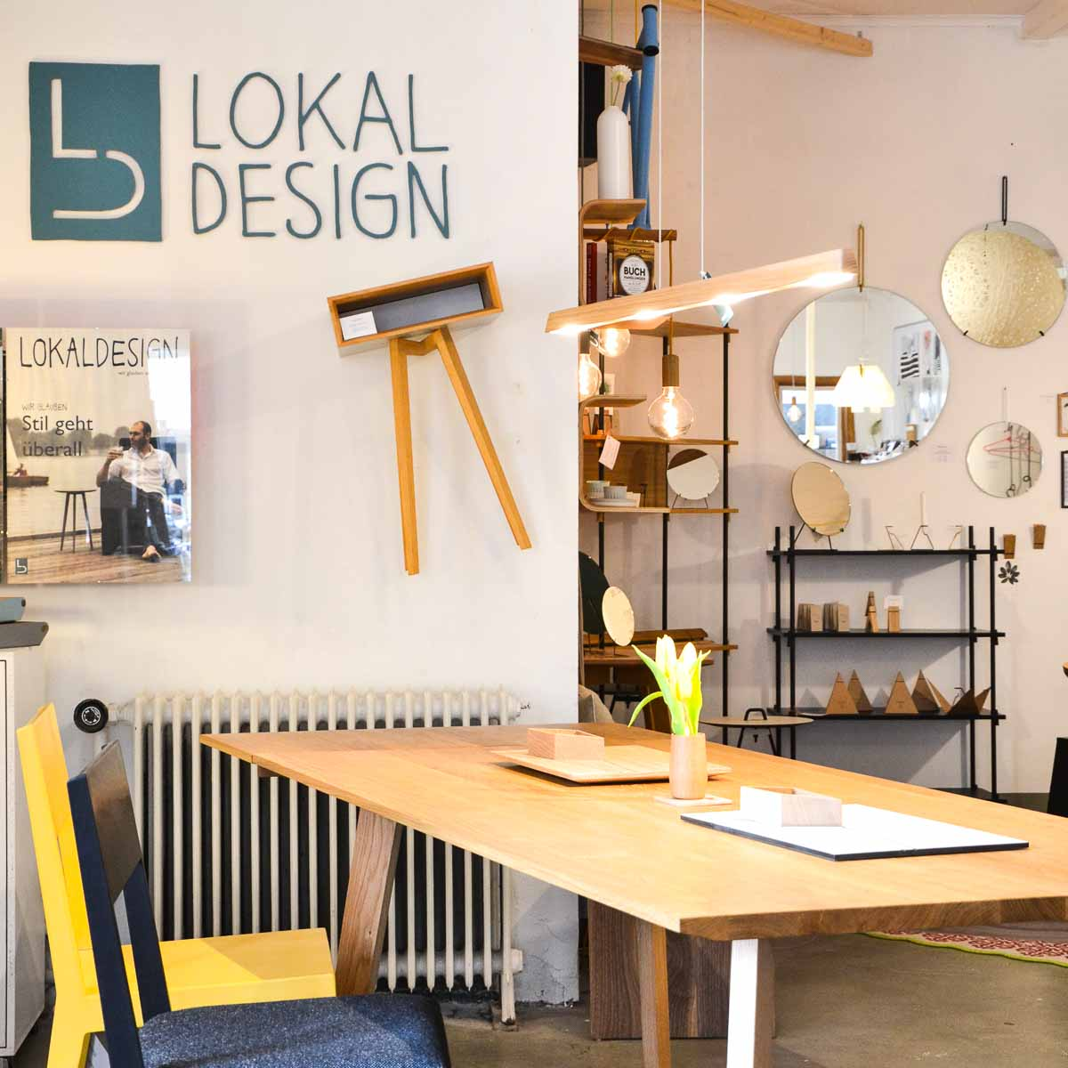 Concept Store Lokaldesign in Hamburg