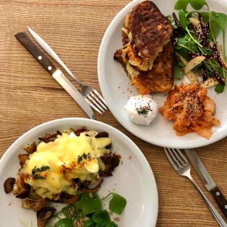 Frühstück im The Future Breakfast in Berlin-Neukölln