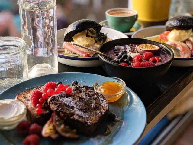 Früshtsück bei Allan's Breakfast Club Berlin