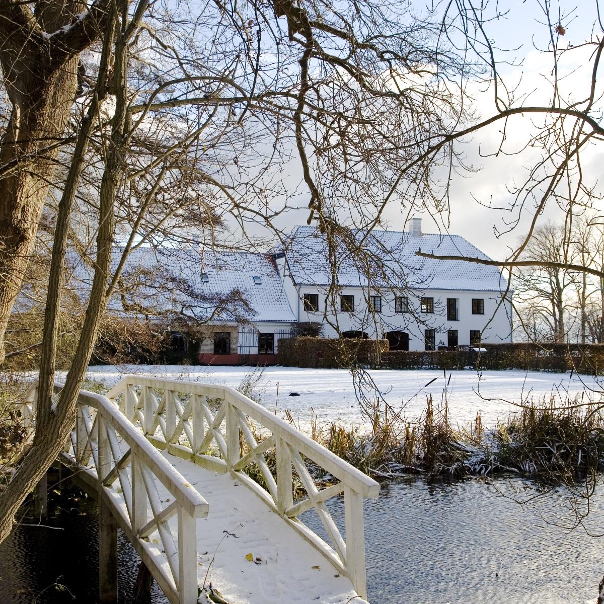 Karen Blixen Museum Dänemark Winter