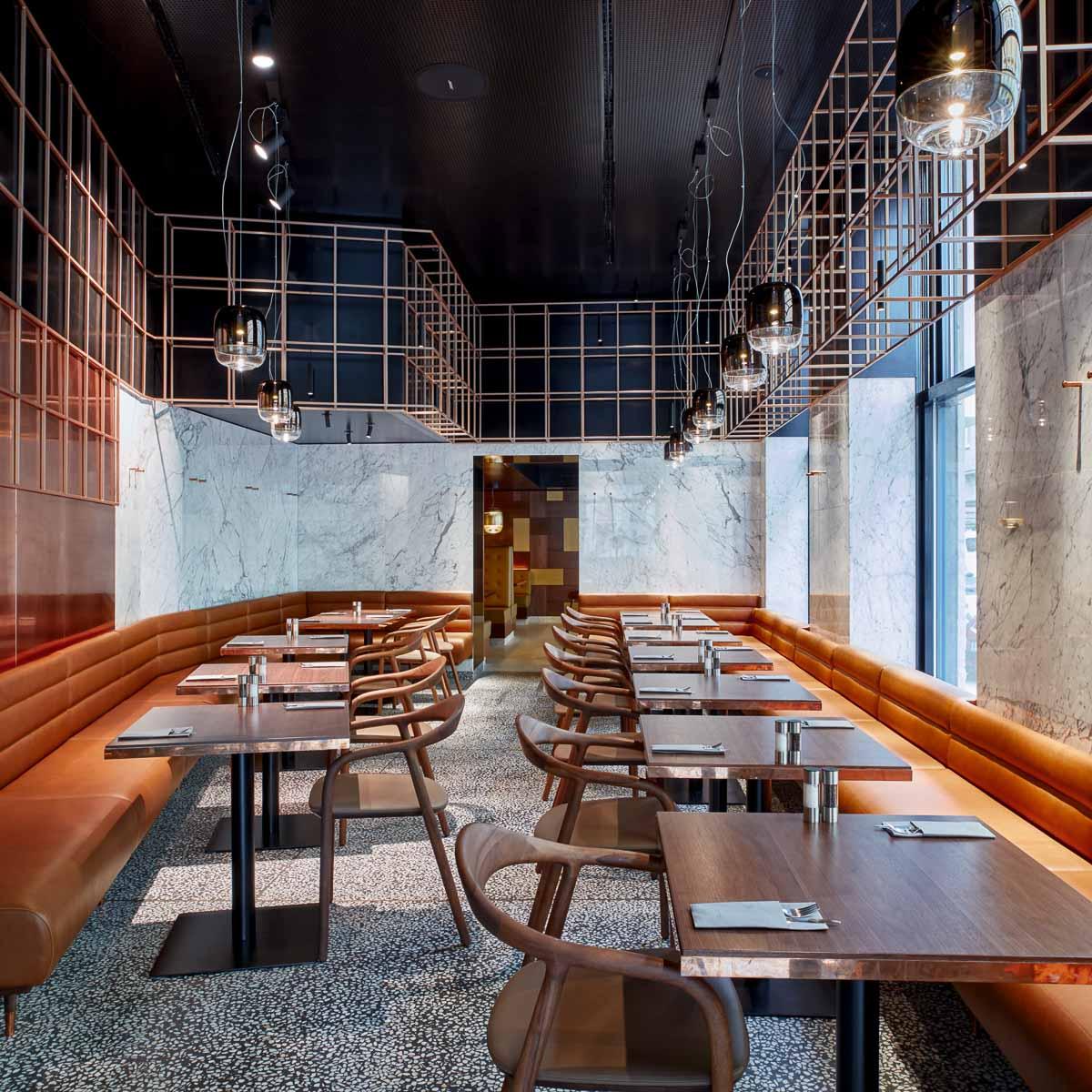 Restaurant Bistro Porto im Hotel Das Triest Wien-8