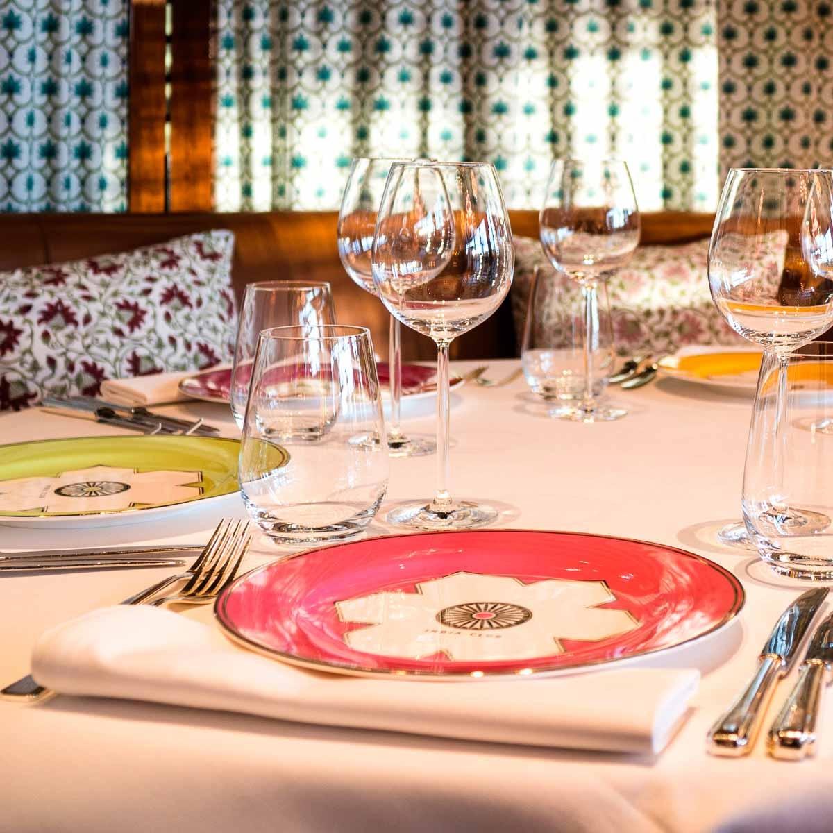 Fine Dining im Restaurant India Club Berlin