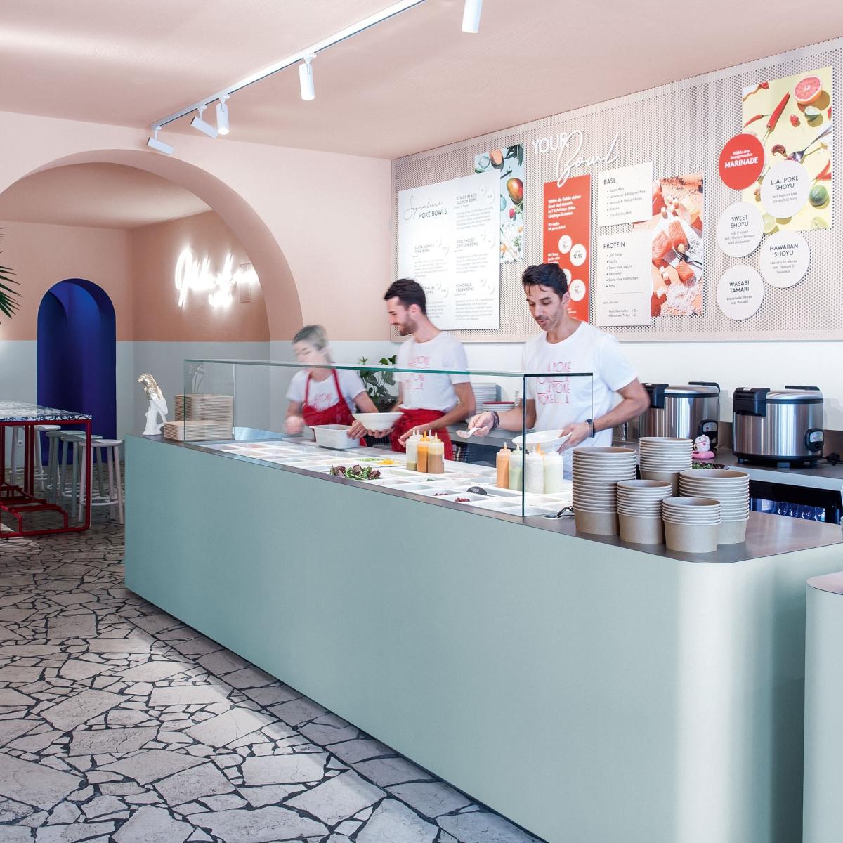 Restaurant LA Poke Berlin - Bild Boesenberg