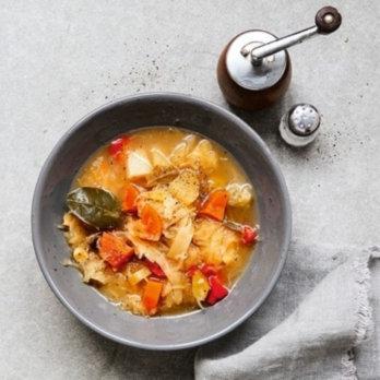 Rezept für scharfe Sauerkrautsuppe
