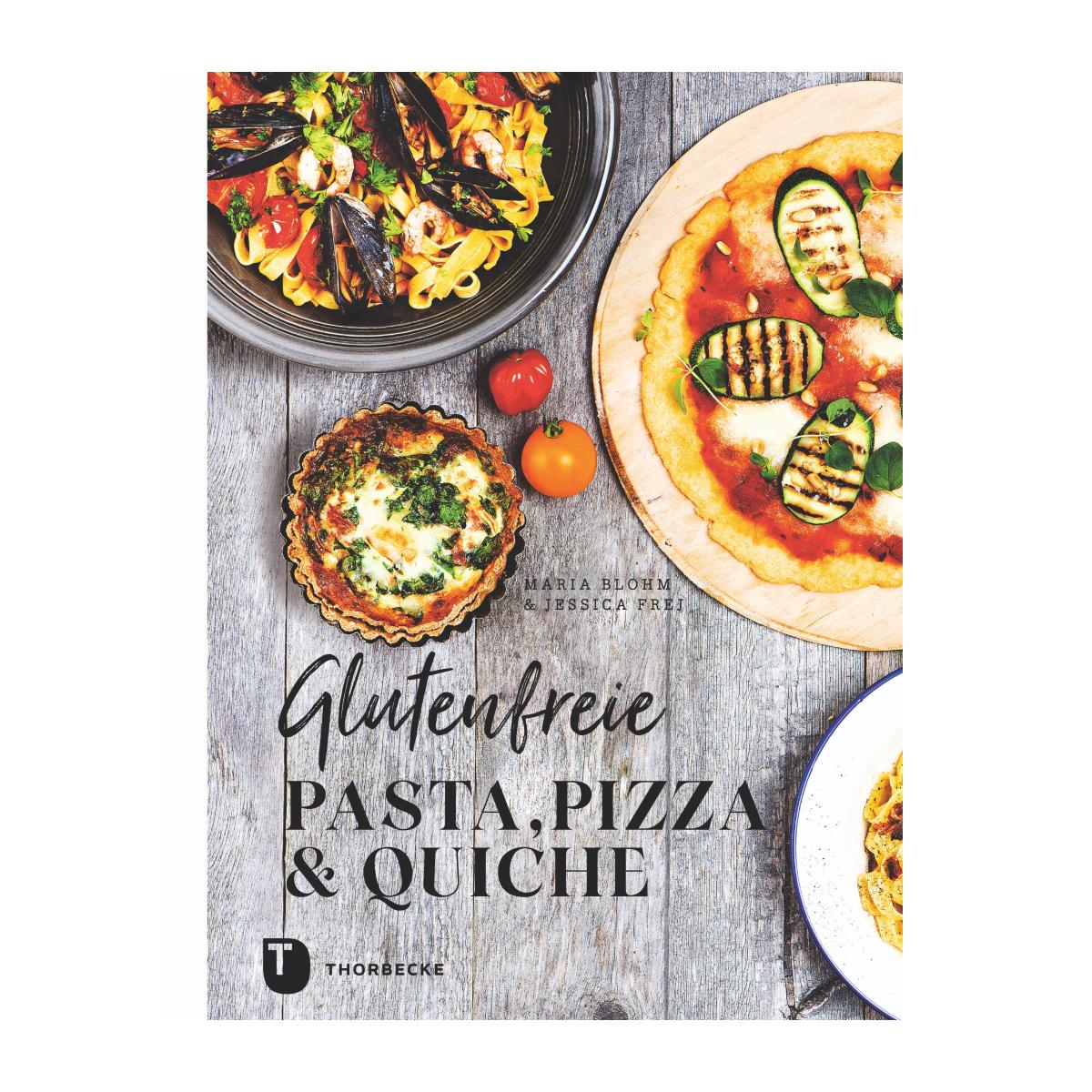 Cocer Glutenfreie Pasta Pizza und Quiche