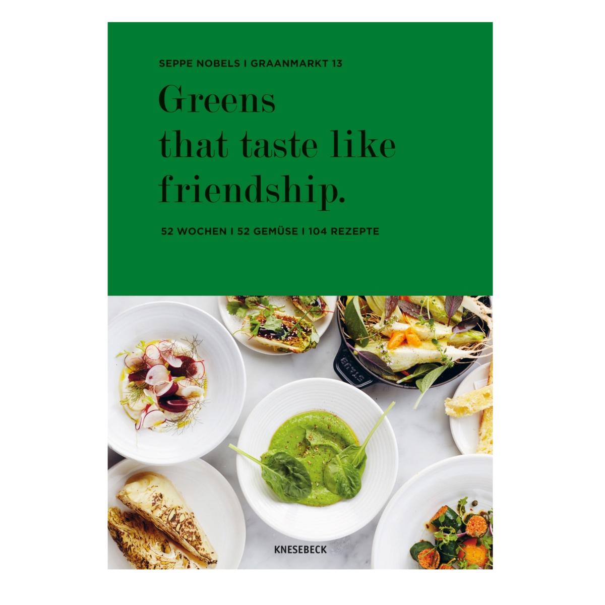 Cover Greens that taste like frienship