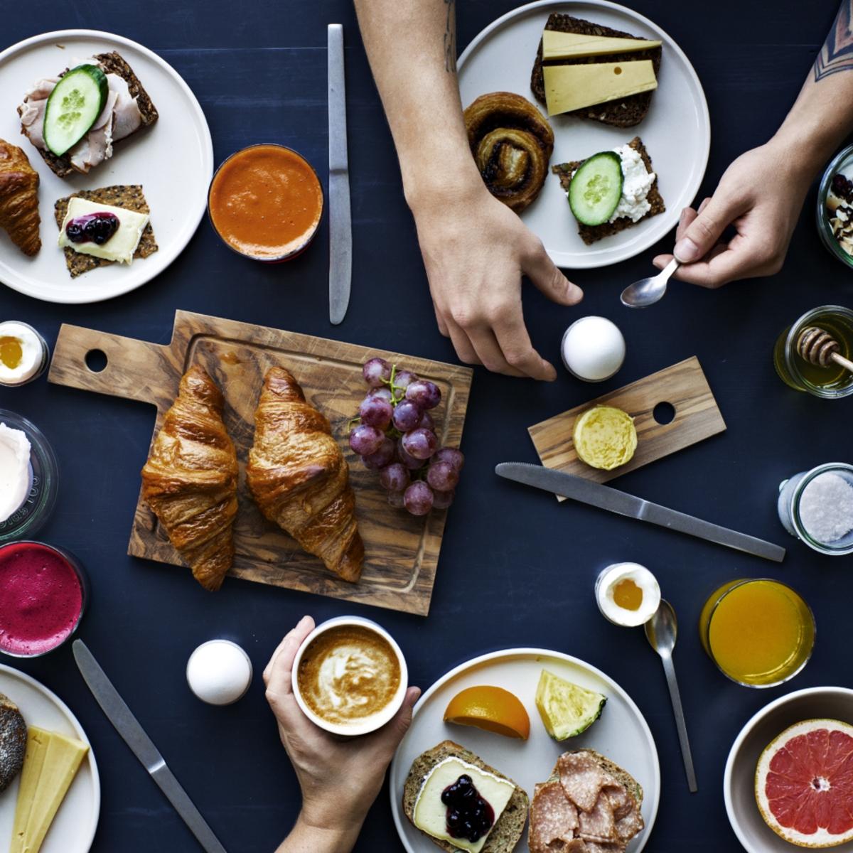 Frühstück im The Lab Kitchen Kopenhagen