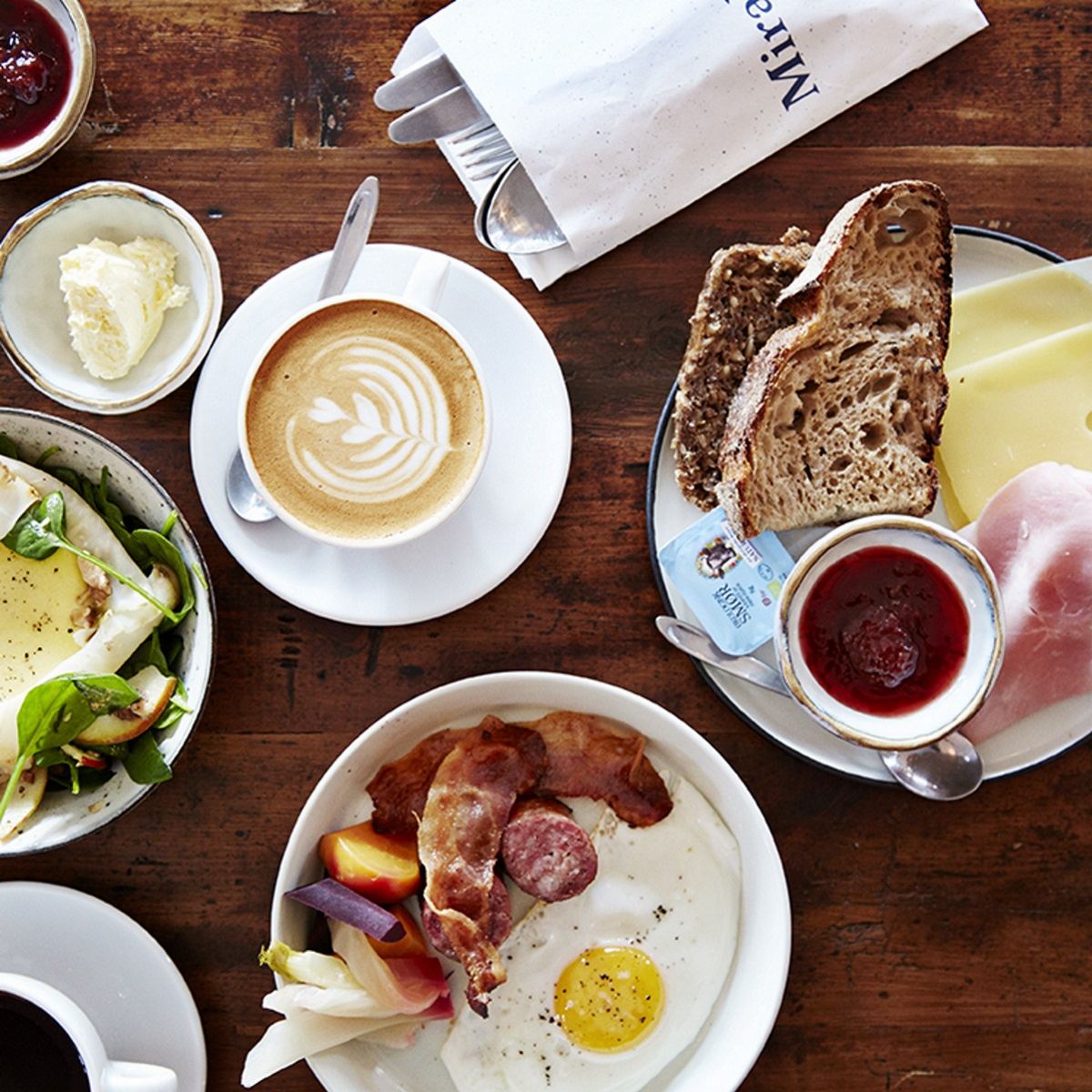 Frühstück und Brunch im Café Mirabelle Kopenhagen