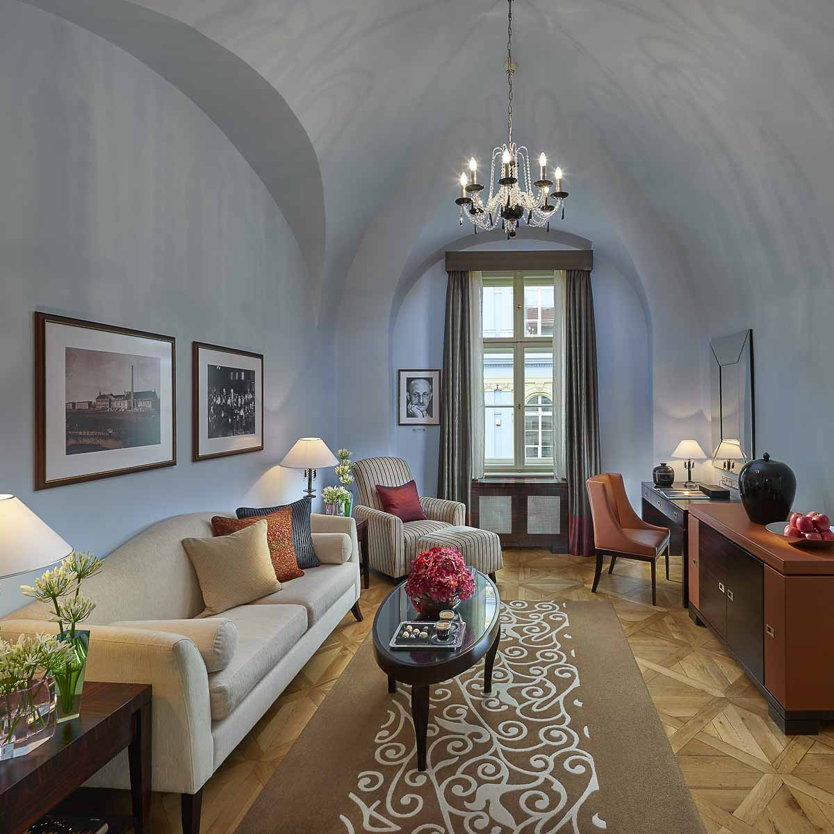 Luxus Hotel Mandarin Oriental Prag-18