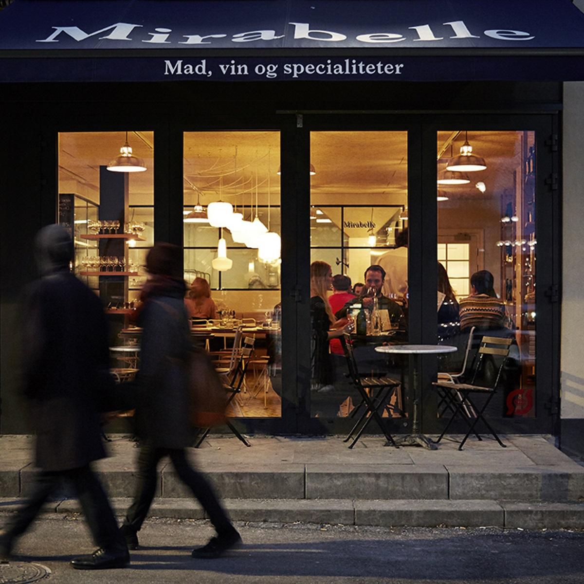 Mirabelle Café, Bäckerei und Restaurant in Kopenhagen