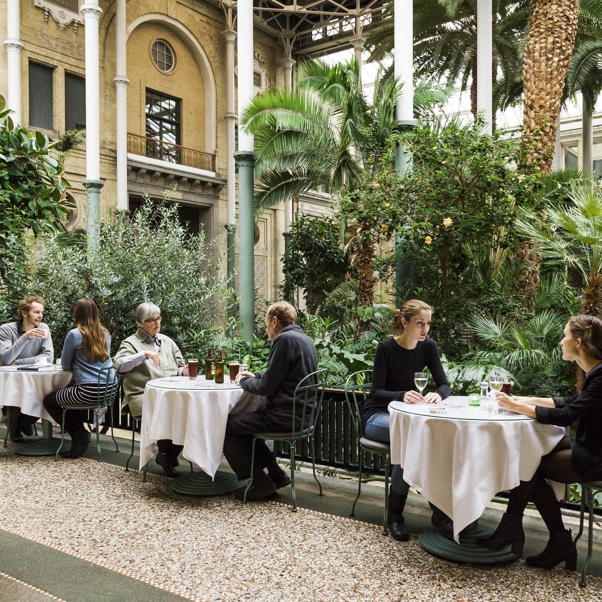 Ny Carlsberg Glyptotek Kopenhagen_Café im Wintergarten