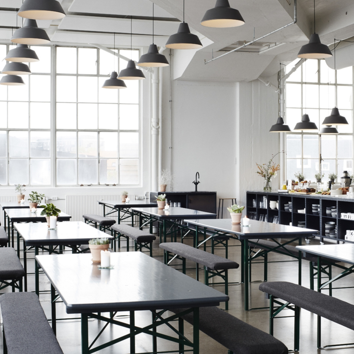 The Lab Kitchen_Café und Restaurant im Industrieloft in Kopenhagen