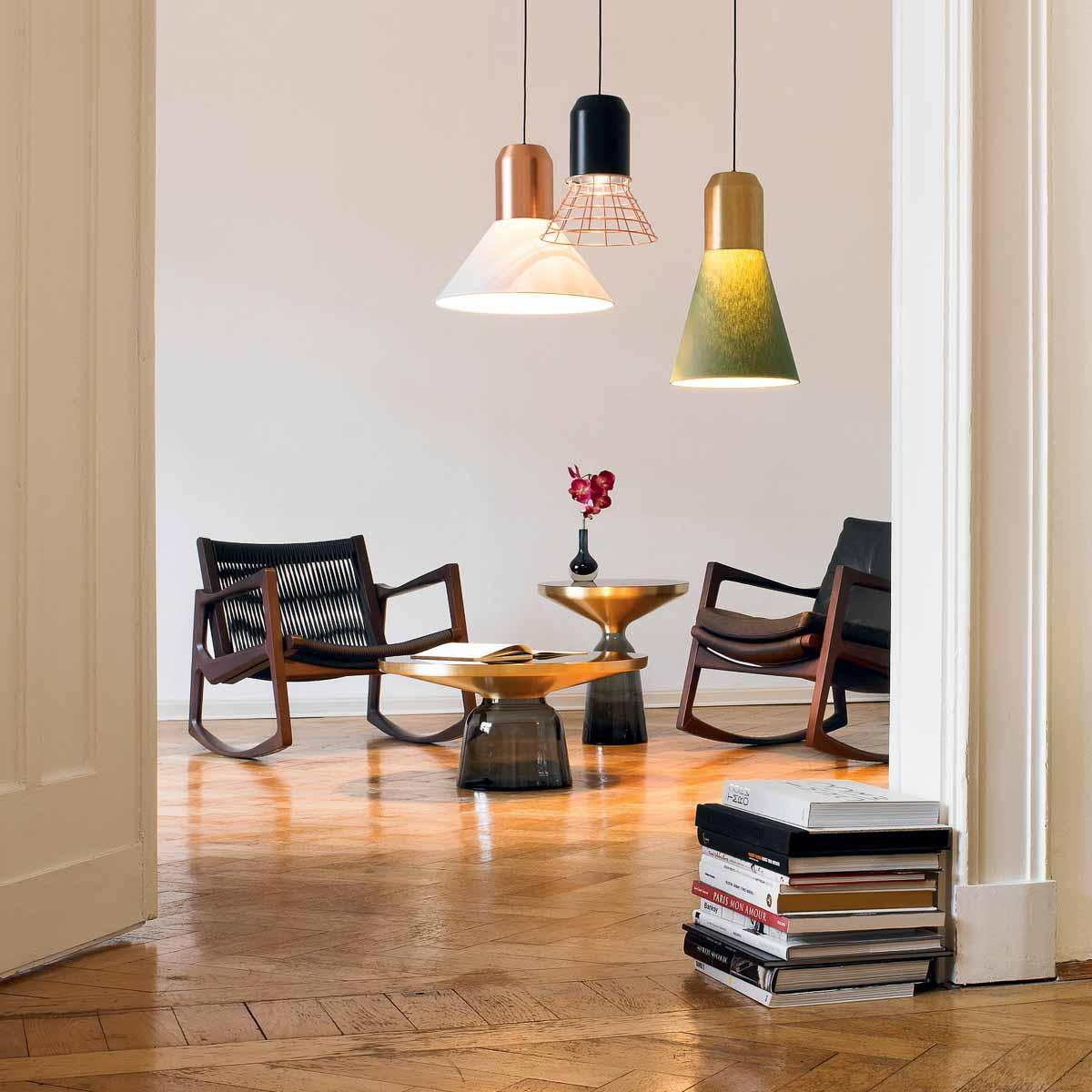 Sebastian Herkner Bell Table von Classicon © Foto Felix Holzer