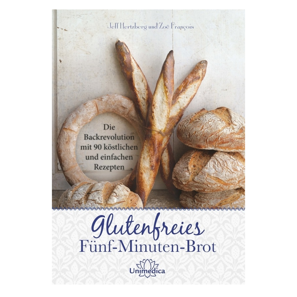 Cover Glutenfreies Fünf Minuten Brot