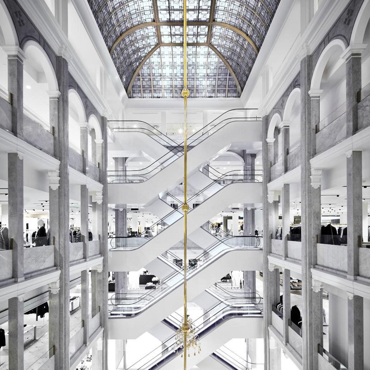 Illum Kaufhaus für Luxusshopping in Kopenhagen
