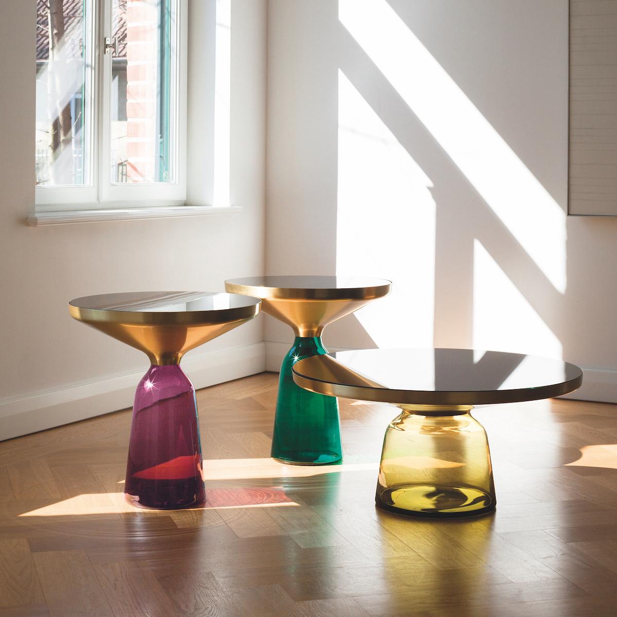 Sebastian Herkner Bell Table von Classicon © Foto Elias Hassos