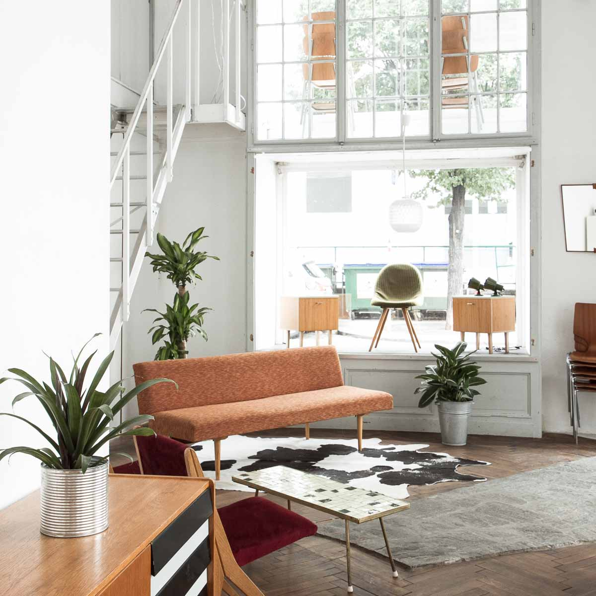 Vintage Möbel bei Die Wohnung in Wien