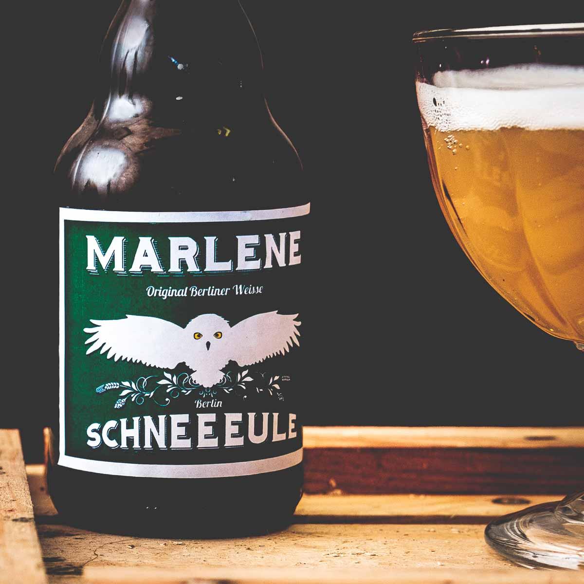 Berliner Weisse von der Brauerei Schneeeule