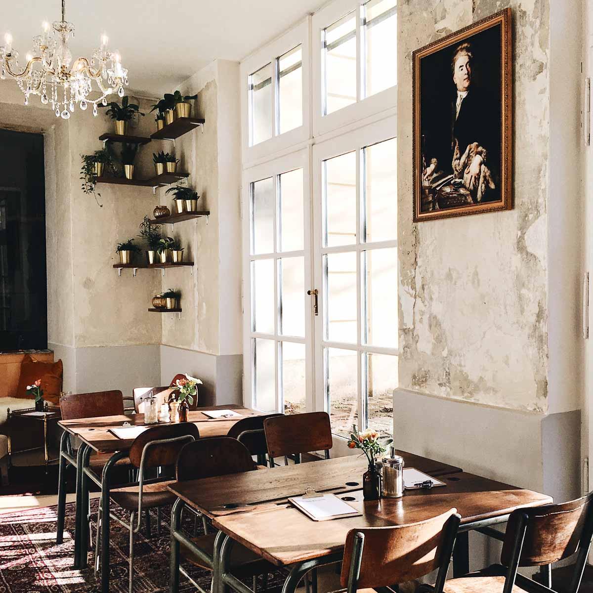 Café Hildebrandt im Gartenpalais Schönborn in Wien