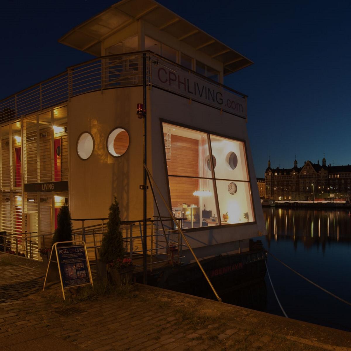 CPH Living_Hotel auf dem Wasser_Hotelboot in Kopenhagen