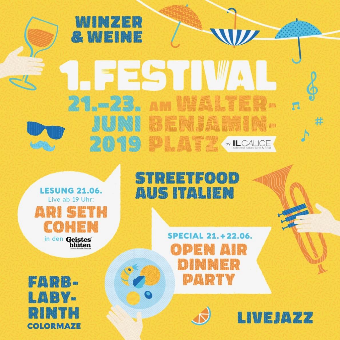 Festival am Walter Benjamin Platz