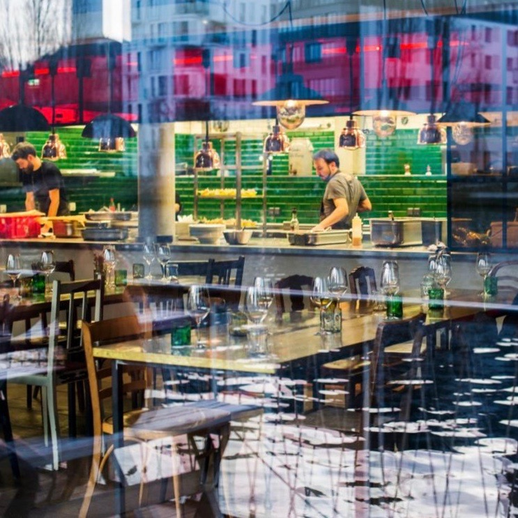 Restaurant Katerschmaus in Berlin-Friedrichshain