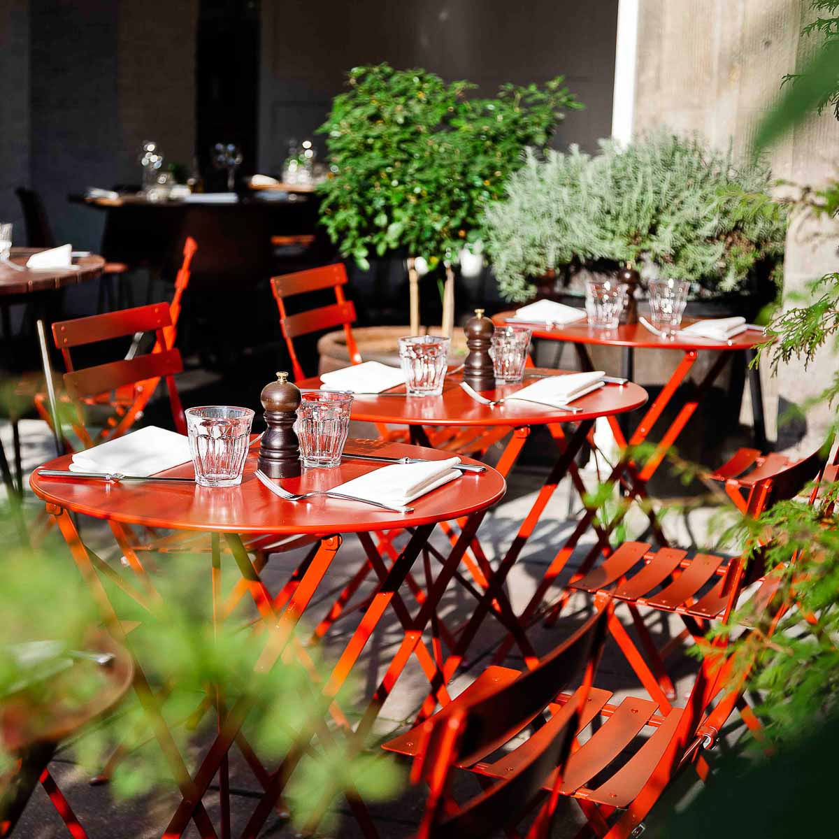 Top 10 Restaurants mit Terrassen ©Klaus Lange | Spindler Restaurant