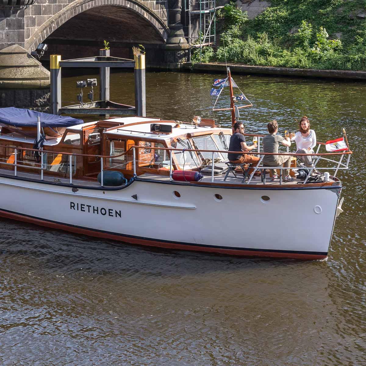 Riethoen Exklusive Bootstouren auf der Spree-4