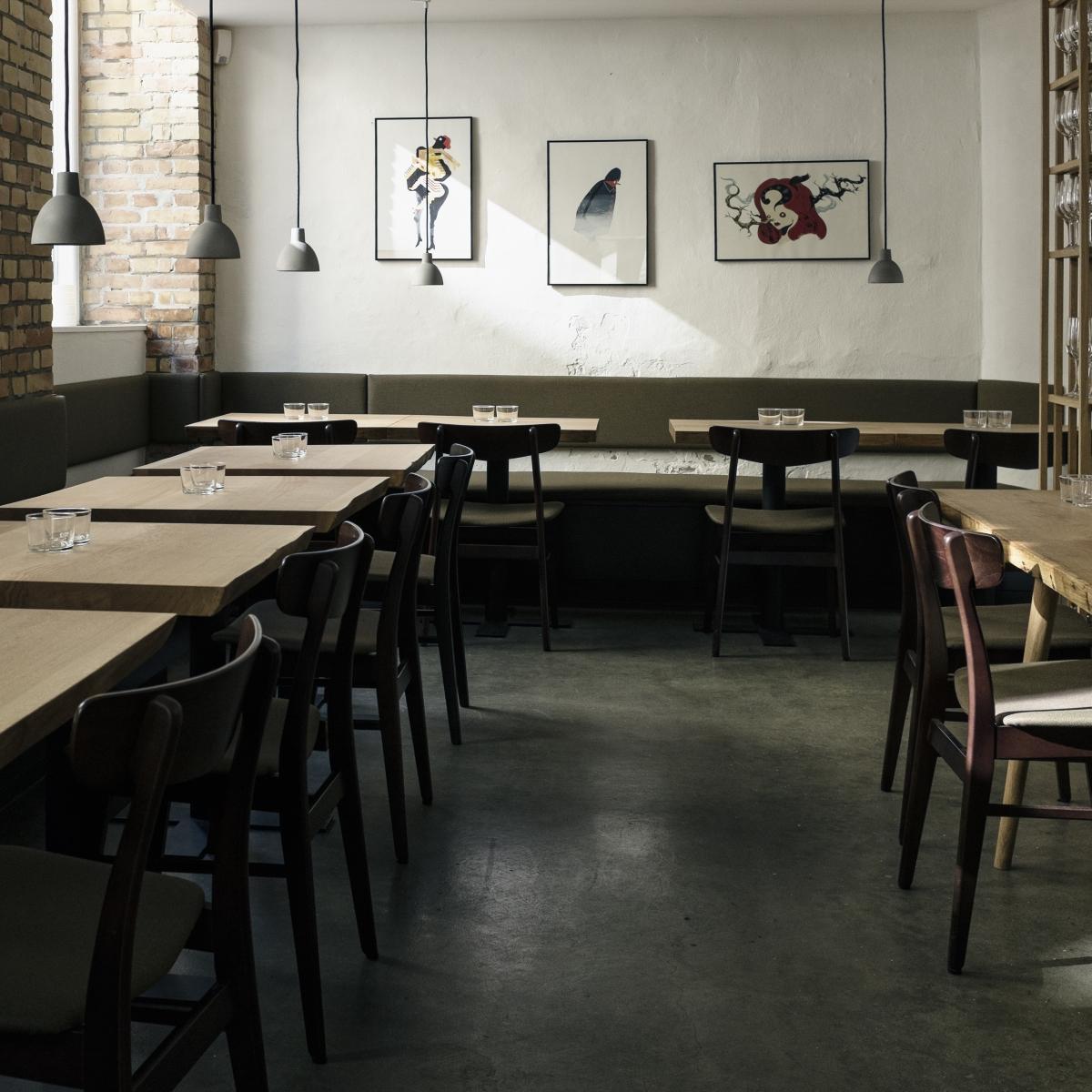 Sternerestaurant Relæ in Kopenhagen_Interieur