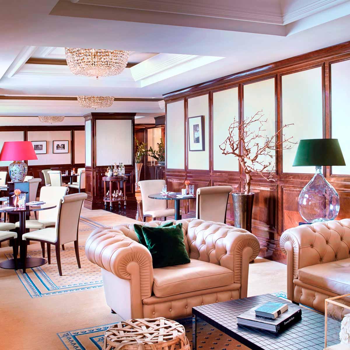 The Ritz Carlton Berlin Club Lounge
