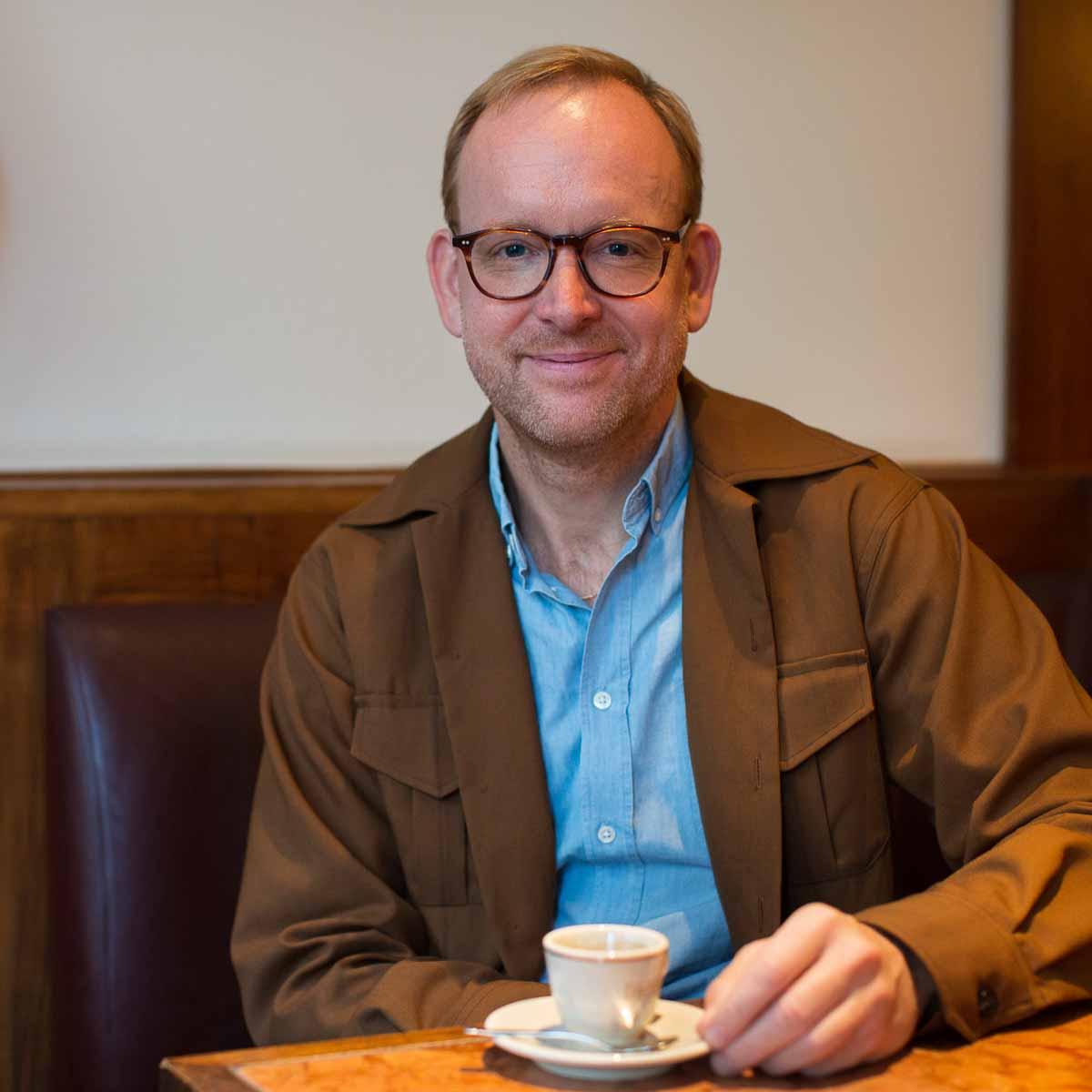 Christoph Amend, Chefredakteur Zeit Magazin © Simone Hawlisch