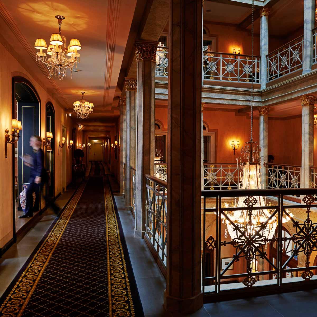 Grand Hotel Les Trois Rois in Basel © Les Trois Rois