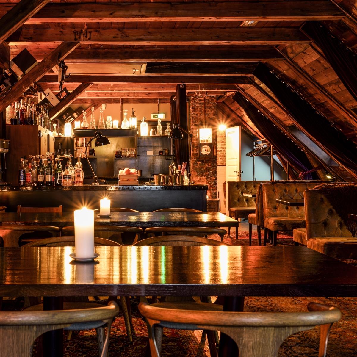 Lidkoeb_Cocktailbar in Kopenhagen Vesterbro_Whiskybar im Dachgeschoss