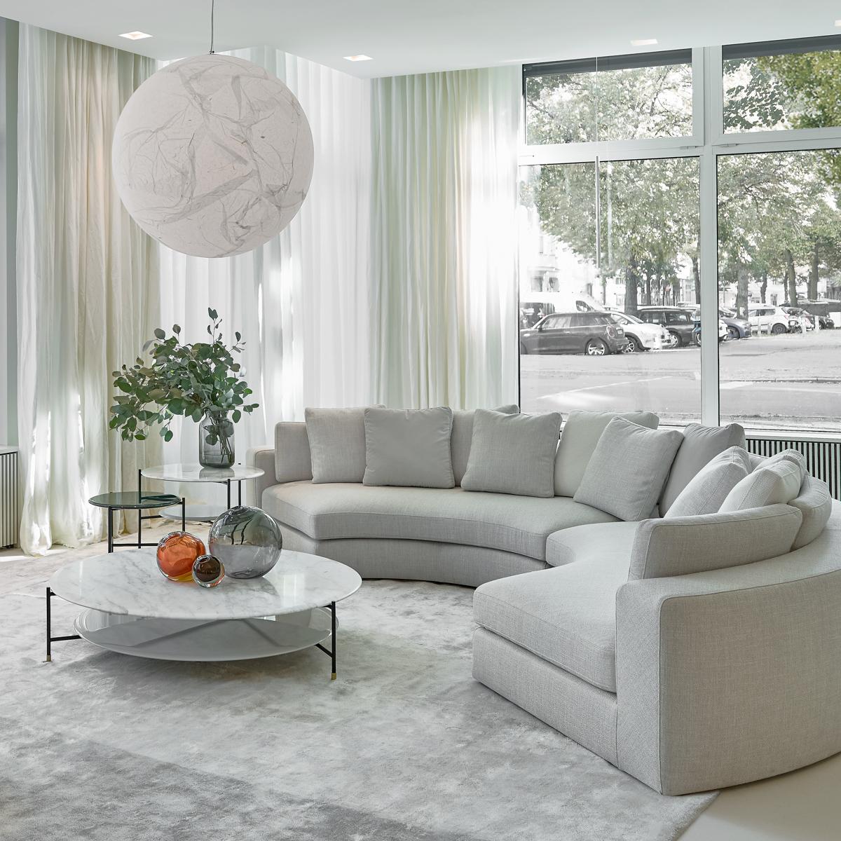 Meridiani Showroom Berlin Sofa