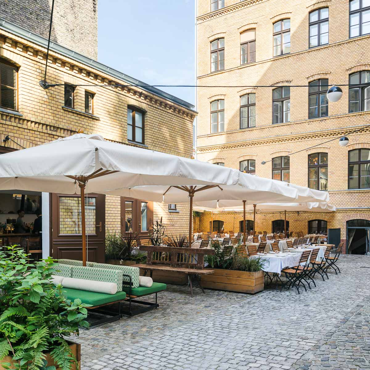 Restaurant Panama an der Potsdamerstraße in Berlin-3