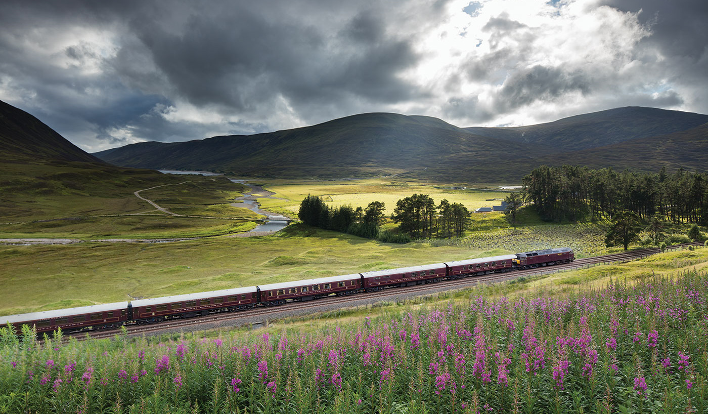 Belmond Royal Scotsman Zugreise durch Schottland