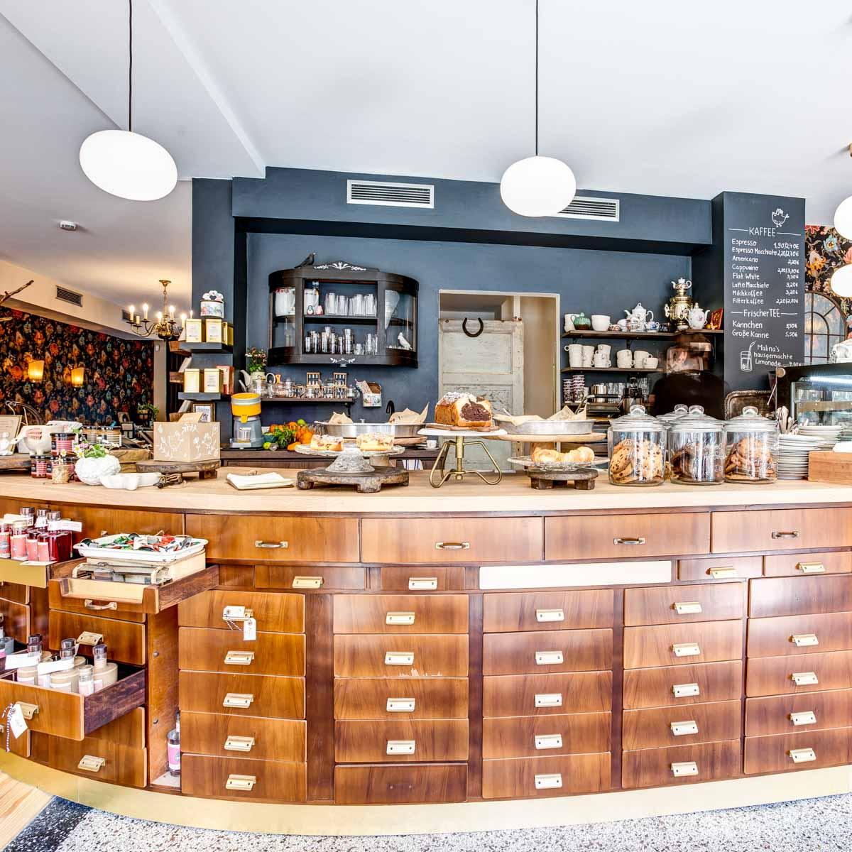 Café Malina Coffee & Stories in Hamburg-Barmbek