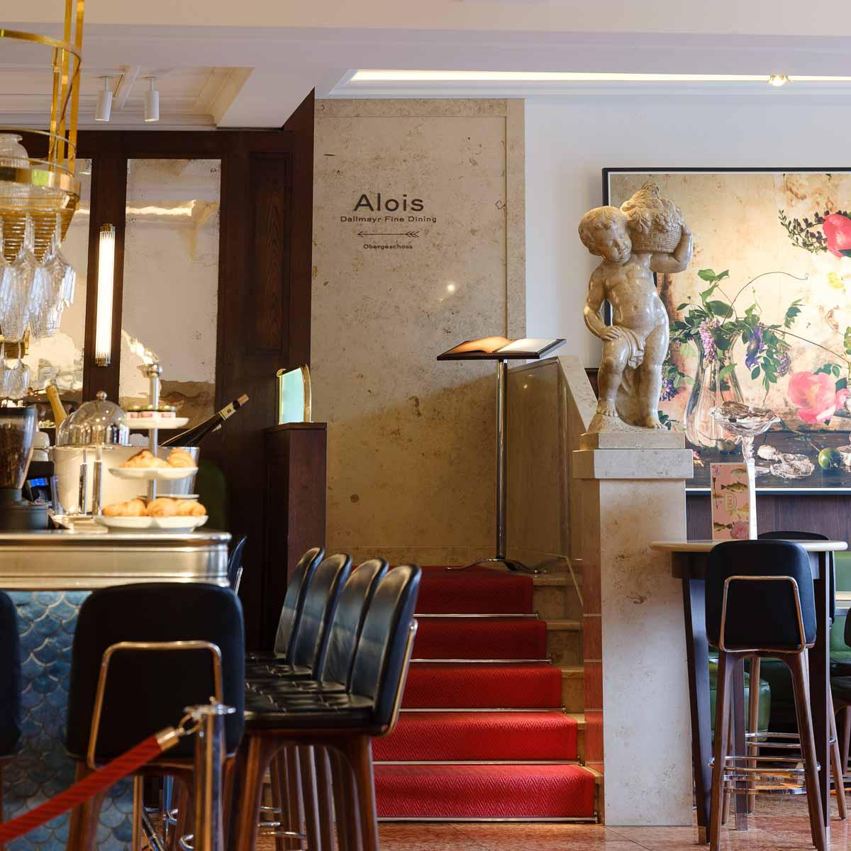 Dallmayr Restaurant Alois in München-8